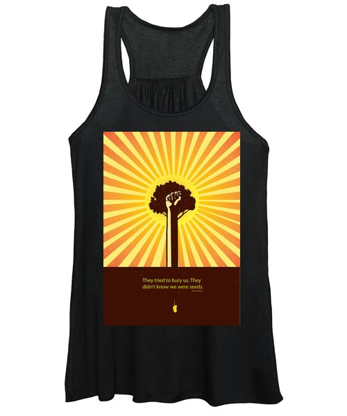 Mexican Proverb Minimalist Poster Women's Tank Top