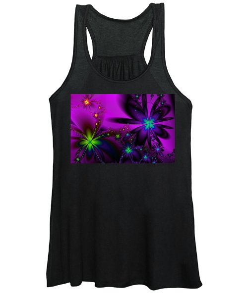 Midnight At The Oasis Women's Tank Top