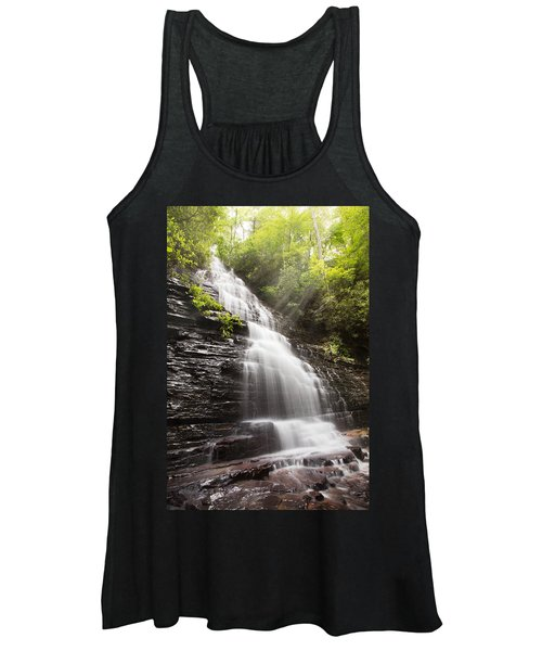 Misty Waterfall Women's Tank Top