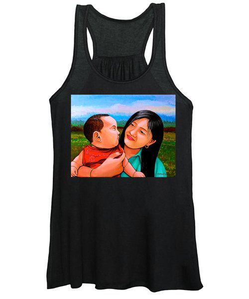 Mom And Babe Women's Tank Top