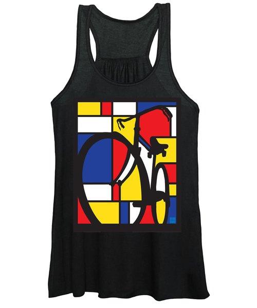 Mondrian Bike Women's Tank Top