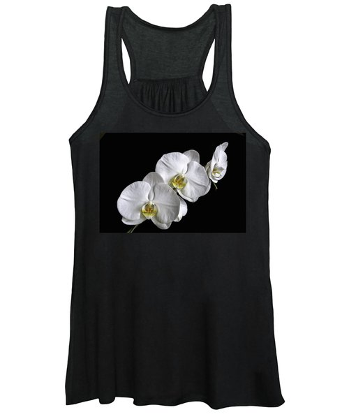 Moth Orchid Trio Women's Tank Top