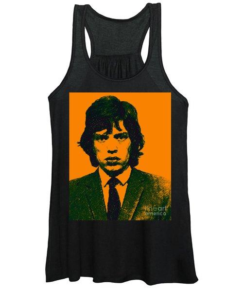 Mugshot Mick Jagger P0 Women's Tank Top