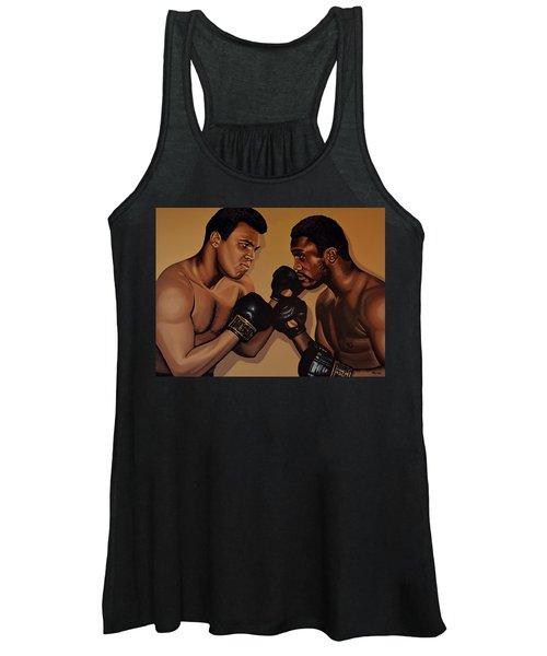 Muhammad Ali And Joe Frazier Women's Tank Top