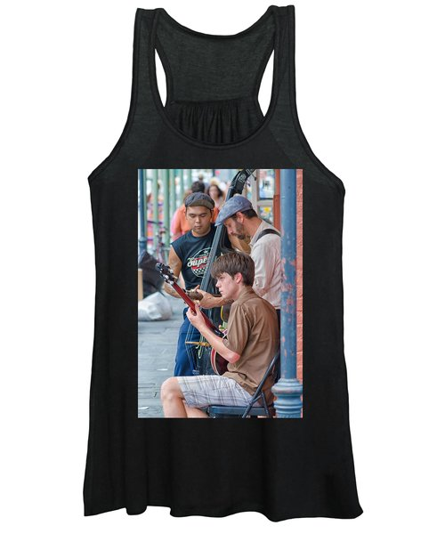 New Orleans Street Trio Women's Tank Top