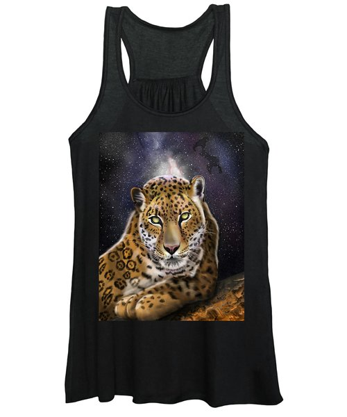 Fourth Of The Big Cat Series - Leopard Women's Tank Top