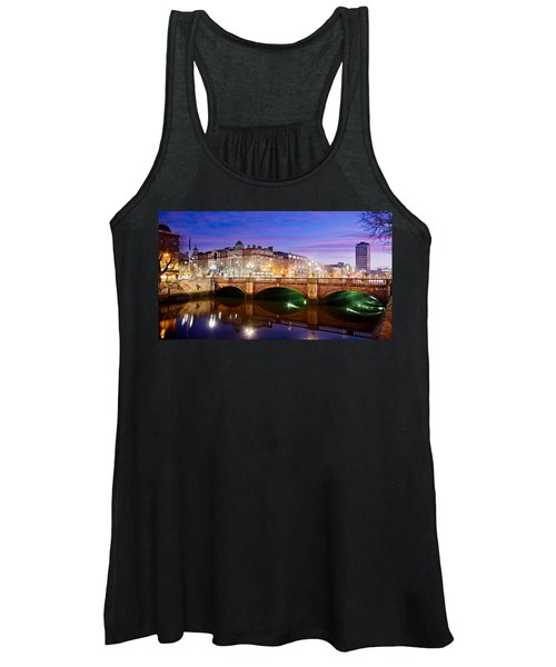 O Connell Bridge At Night - Dublin Women's Tank Top