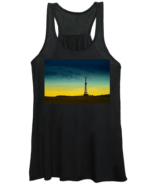 Oil Rig In The Spring Women's Tank Top