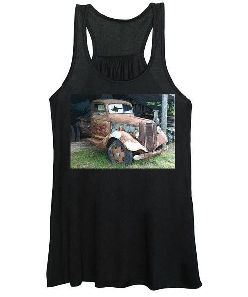 Old Farm Truck Women's Tank Top