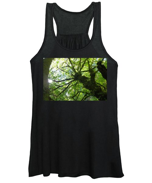 Old Growth Tree In Forest Women's Tank Top