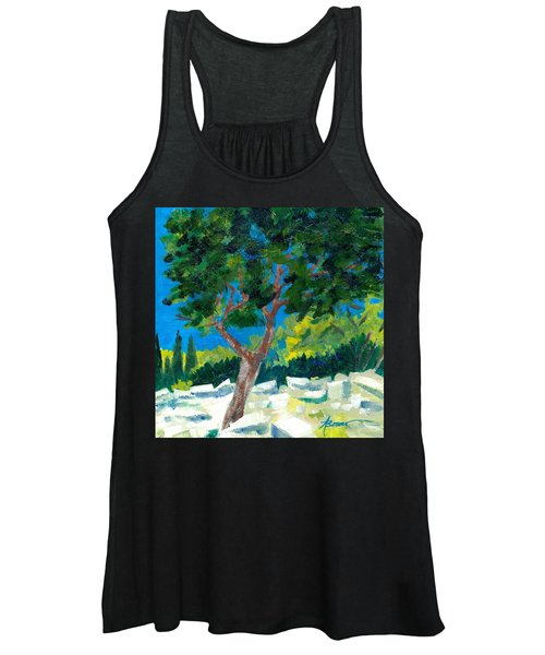 Old Ruins At Rhodes Women's Tank Top
