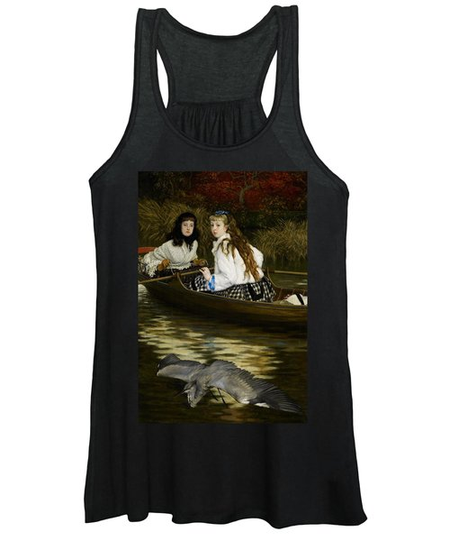 On The Thames     A Heron Women's Tank Top