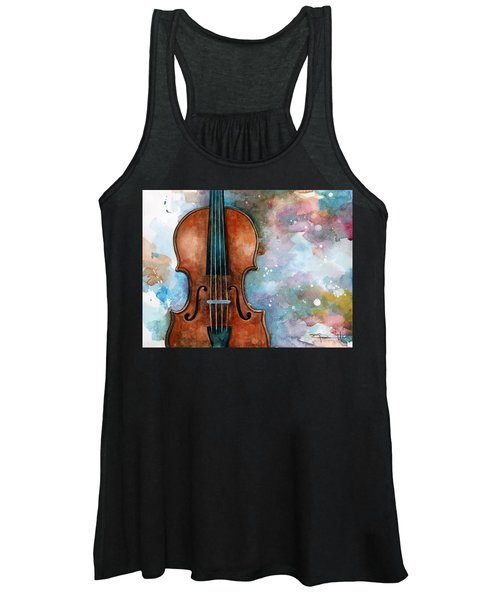 One Voice In The Cosmic Fugue Women's Tank Top