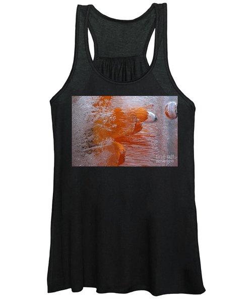Orange Flower Women's Tank Top