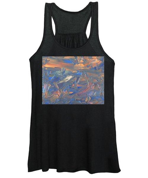 Paint Number 58c Women's Tank Top