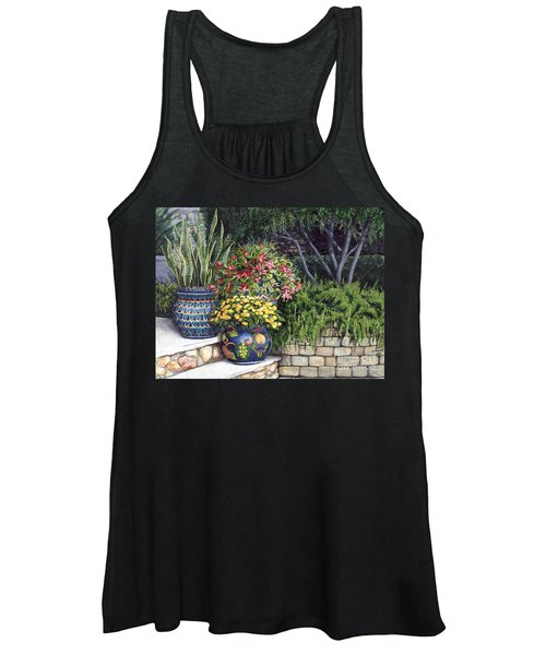 Painted Pots Women's Tank Top