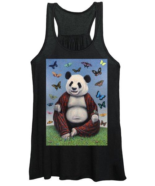 Panda Buddha Women's Tank Top