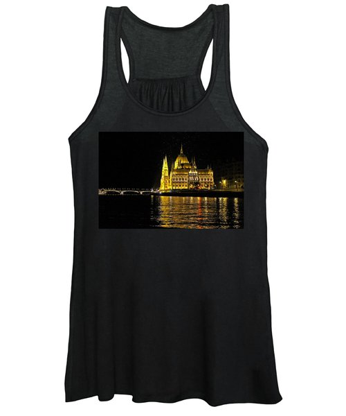 Parliament At Night Women's Tank Top