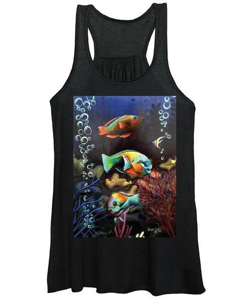 Parrot Fish Women's Tank Top