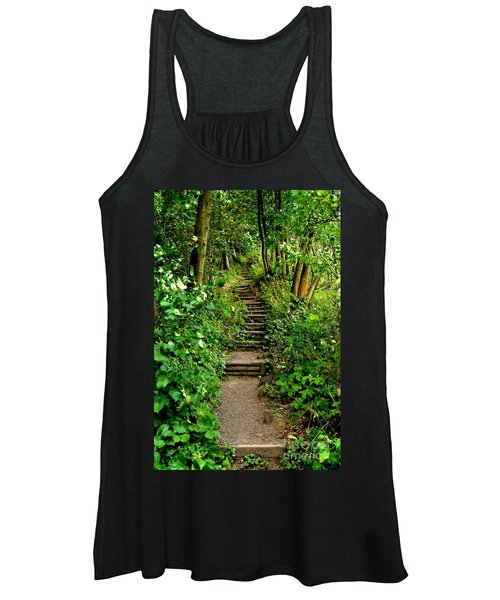 Path Into The Forest Women's Tank Top