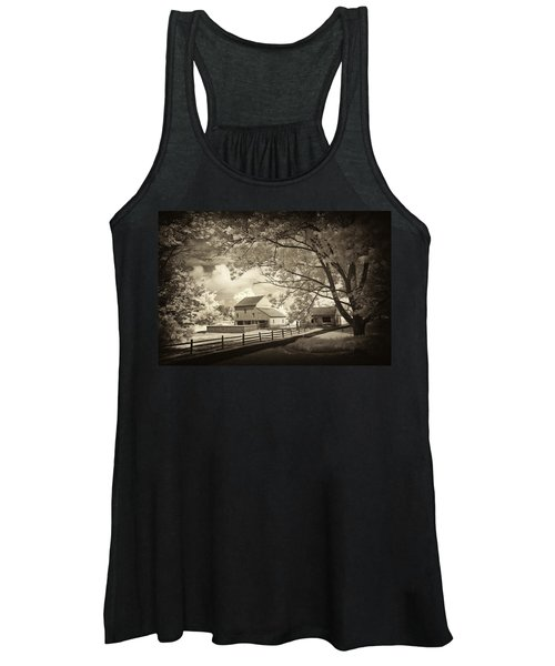 Path To The Old Barn Women's Tank Top