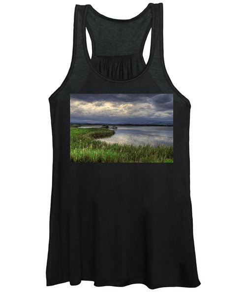 Peaceful Evening At The Lake Women's Tank Top