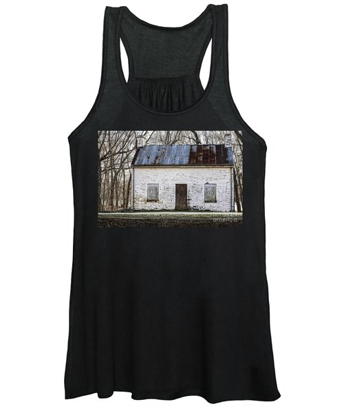 Pennyfield Lockhouse On The C And O Canal In Potomac Maryland Women's Tank Top