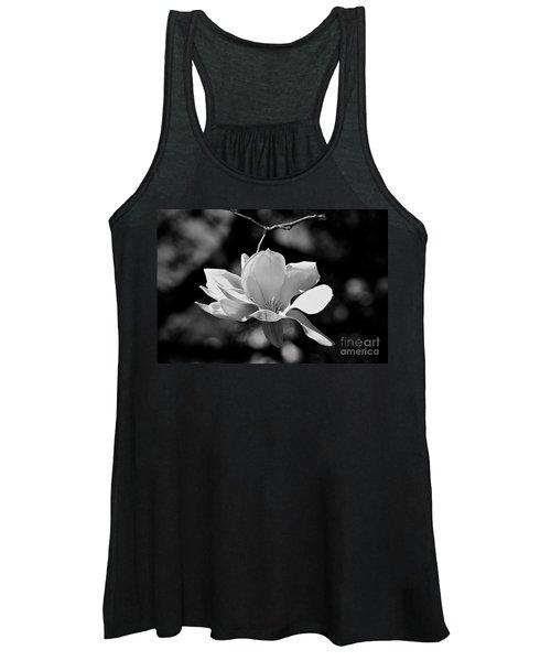 Perfect Bloom Magnolia In White Women's Tank Top