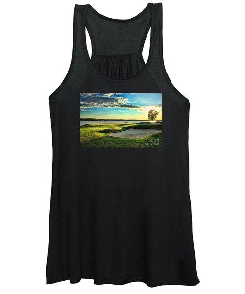 Perfect Golf Sunset Women's Tank Top