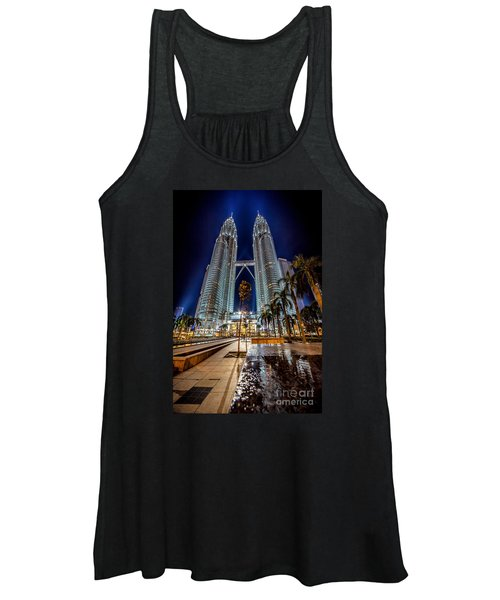 Petronas Twin Towers Women's Tank Top