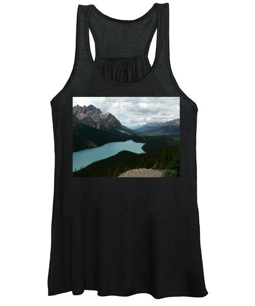 Peyote Lake In Banff Alberta Women's Tank Top