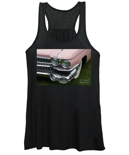 Pink Caddy Women's Tank Top