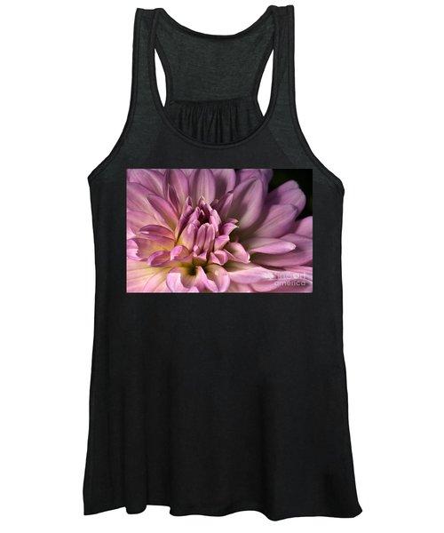 Pink Dahlia's Dream Women's Tank Top