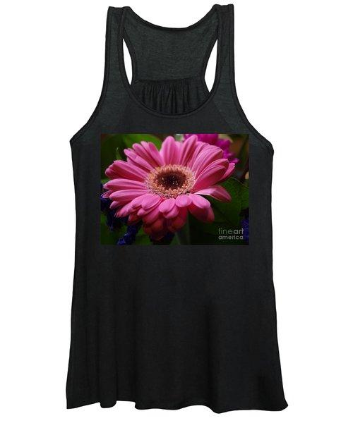 Pink Petal Explosion Women's Tank Top
