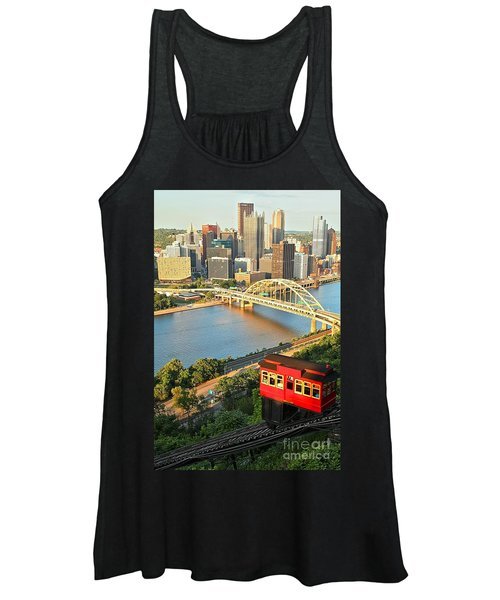 Pittsburgh Duquesne Incline Women's Tank Top