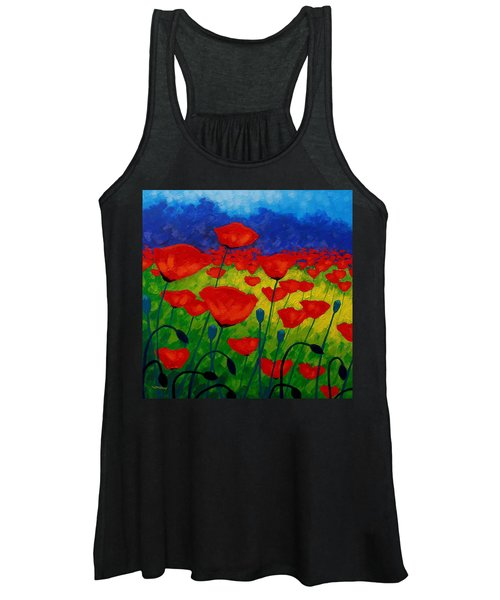 Poppy Corner II Women's Tank Top