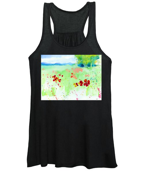 Poppy Passion Women's Tank Top