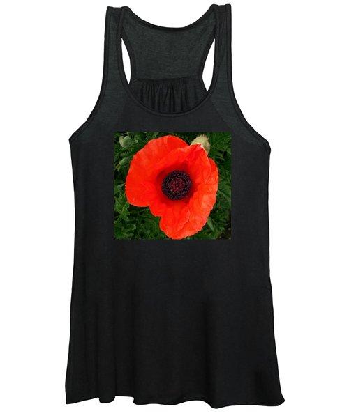 Poppy Of Remembrance  Women's Tank Top