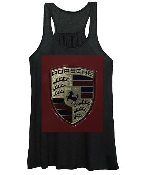 Porsche Emblem Women's Tank Top