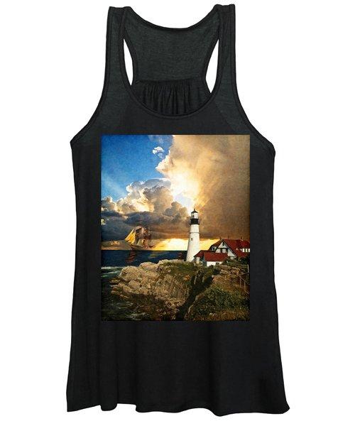 Portland Head Lighthouse Women's Tank Top