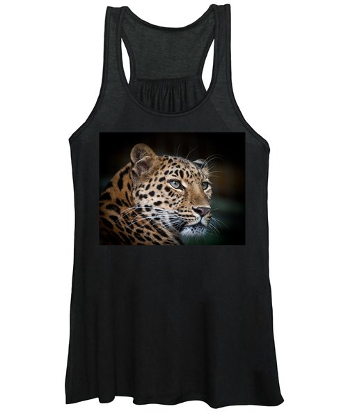 Portrait Of A Leopard Women's Tank Top