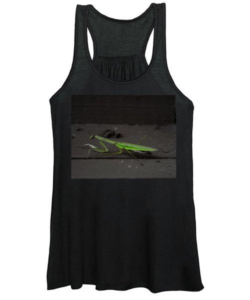 Women's Tank Top featuring the photograph Praying Mantis 2 by John Feiser