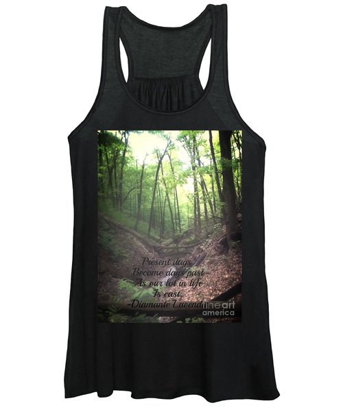 Present Days Become Days Past Women's Tank Top