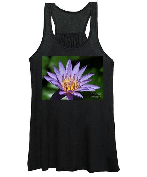 Pretty Purple Petals Women's Tank Top