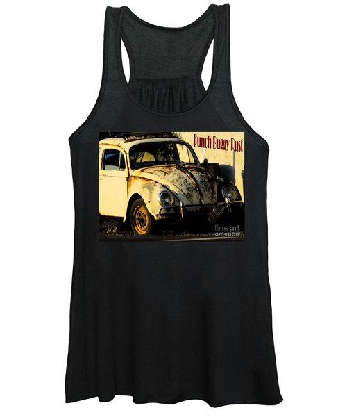 Punch Buggy Rust Women's Tank Top