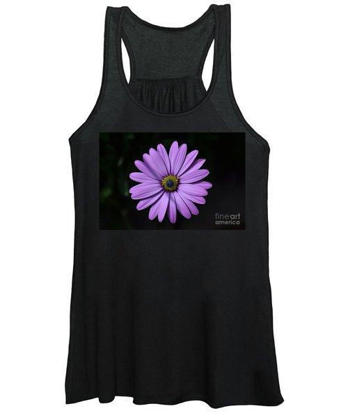 Purple African Daisy Women's Tank Top