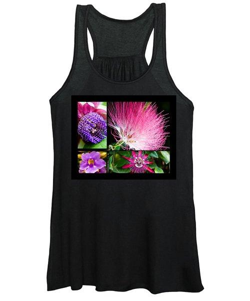 Purple Bouquet Women's Tank Top