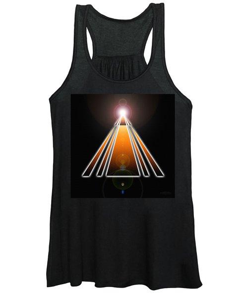 Pyramid Of Light Women's Tank Top