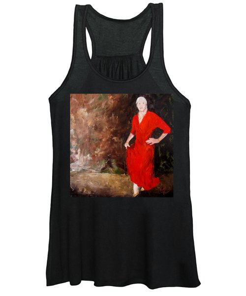 Red Ellegance Women's Tank Top