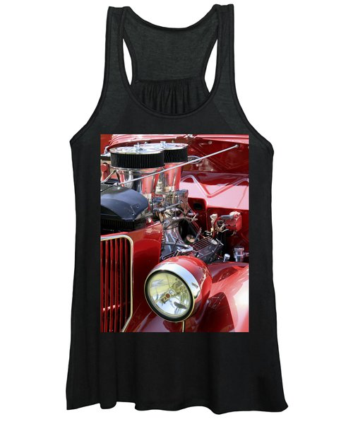 Red Ford Women's Tank Top